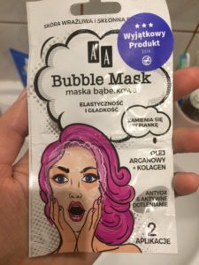 Bubble Mask AA - bąbel czy bubel?